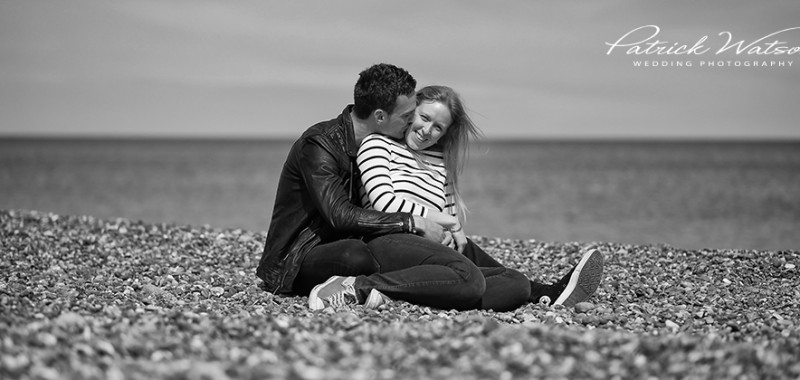The Salthouse beach pre wedding shoot of Jaqueta and Chris