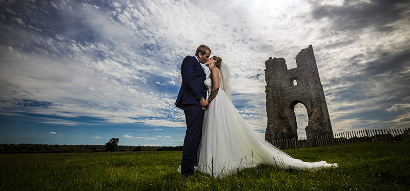 The Ashill church and Godwick Hall and Great Barn wedding of Susannah and Craig