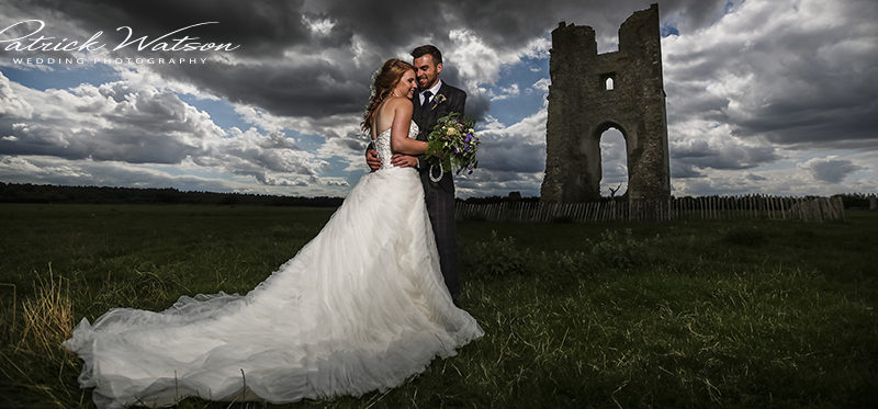 The Godwick Great Barn and Hall wedding of Kerry and Dan