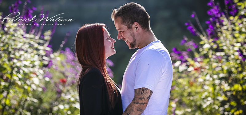 The Plantation Garden pre-wedding portrait session of Rachael and Pete