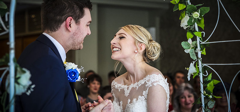 The Oaklands Hotel wedding of Jade and Andrew