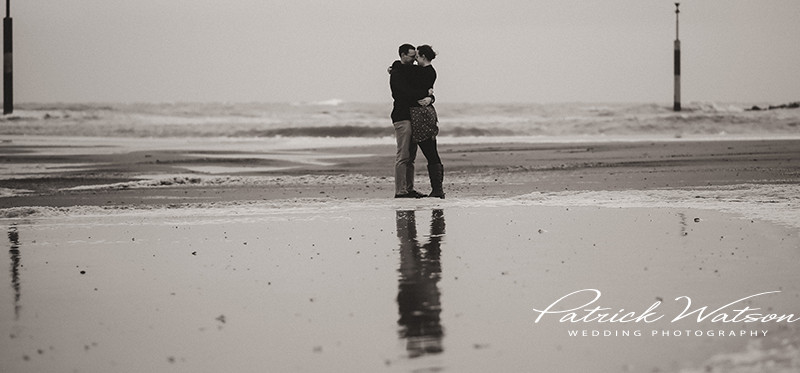 The Sea Palling pre wedding shoot of Lucy and Mark
