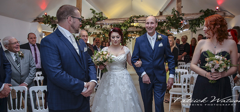 The White Dove Barn wedding of Karen and Ian