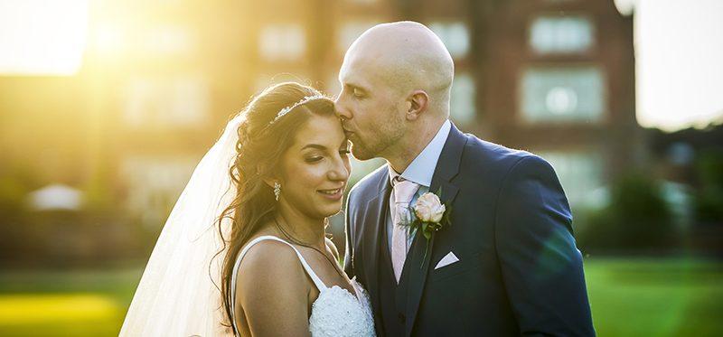The Dunston Hall wedding of Chantal and James