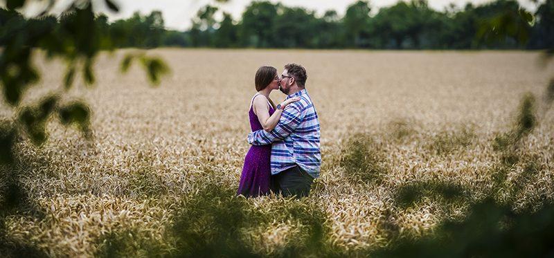 The Barton Broad pre-wedding shoot of Kate and Loren