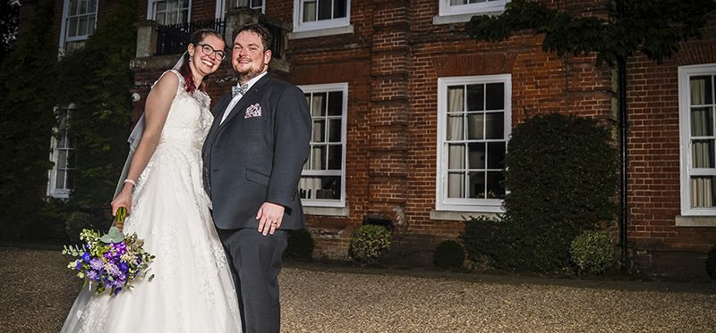 The Norfolk Mead Hotel at Coltishall wedding of Kate and Loren
